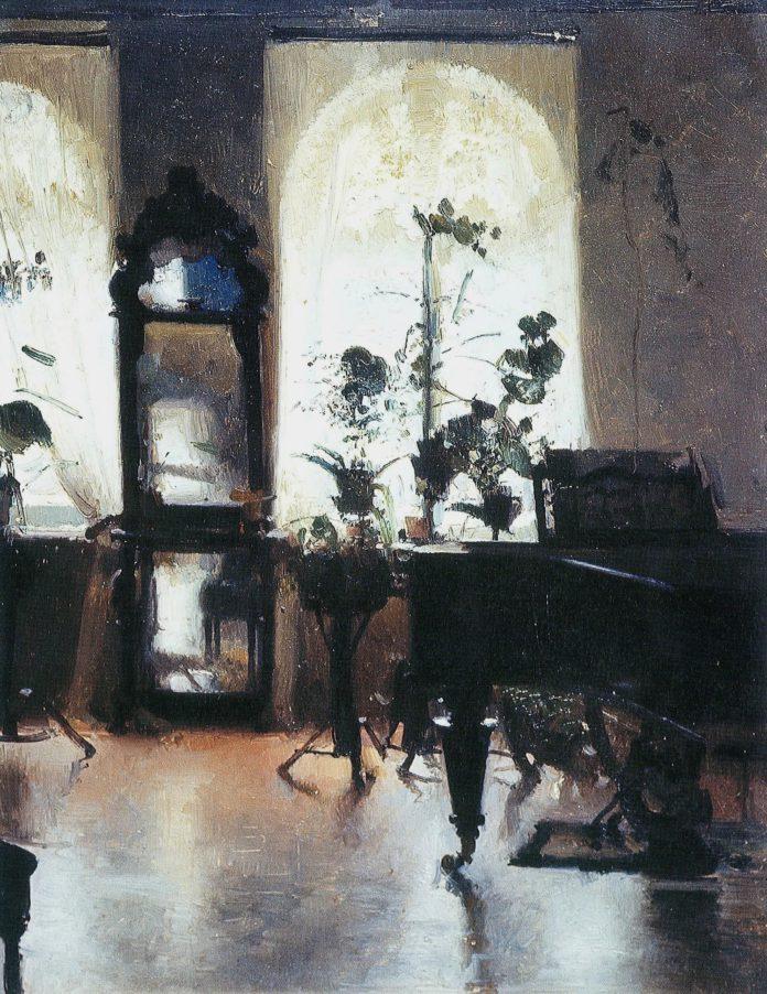 Інтер`єр з роялем. П.Левченко. 1900 р.