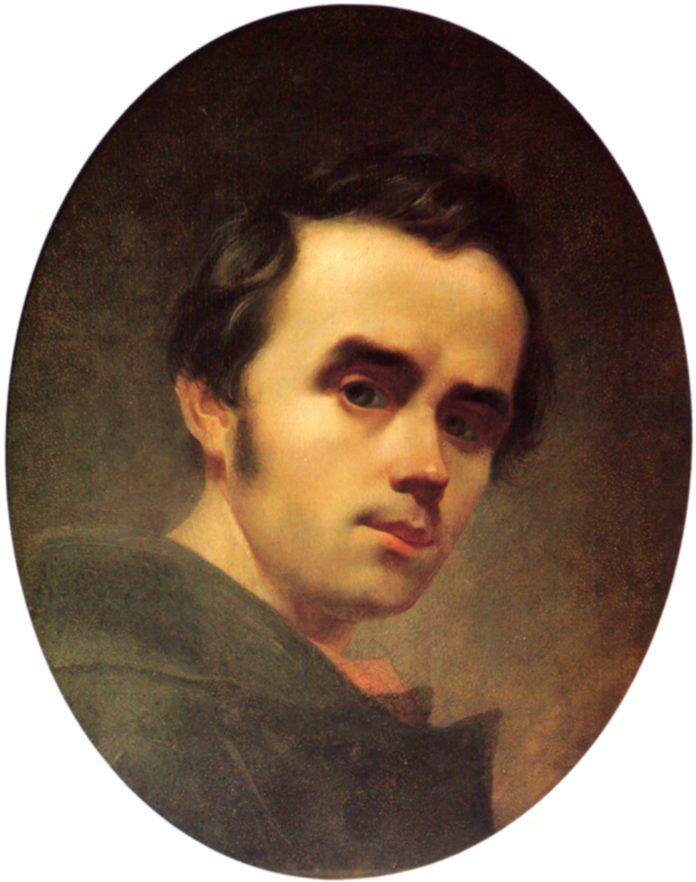 Автопортрет (Шевченко, зима 1840—1841)